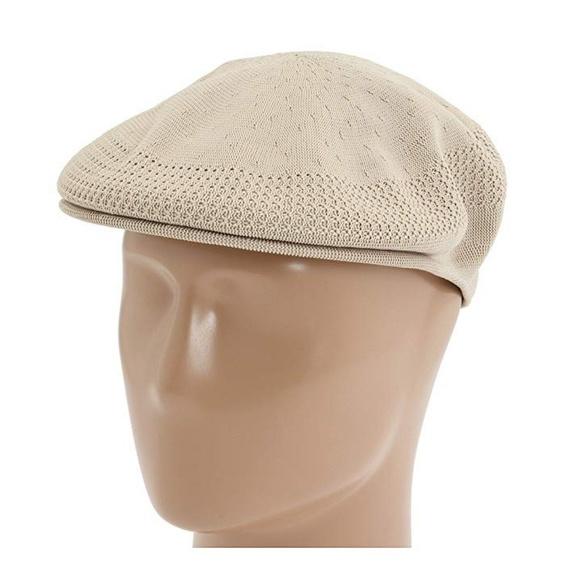 Kangol Other - Mens KANGOL Tropic Ventair 504 Beige Tan Cap Size 5e2f004c5f2
